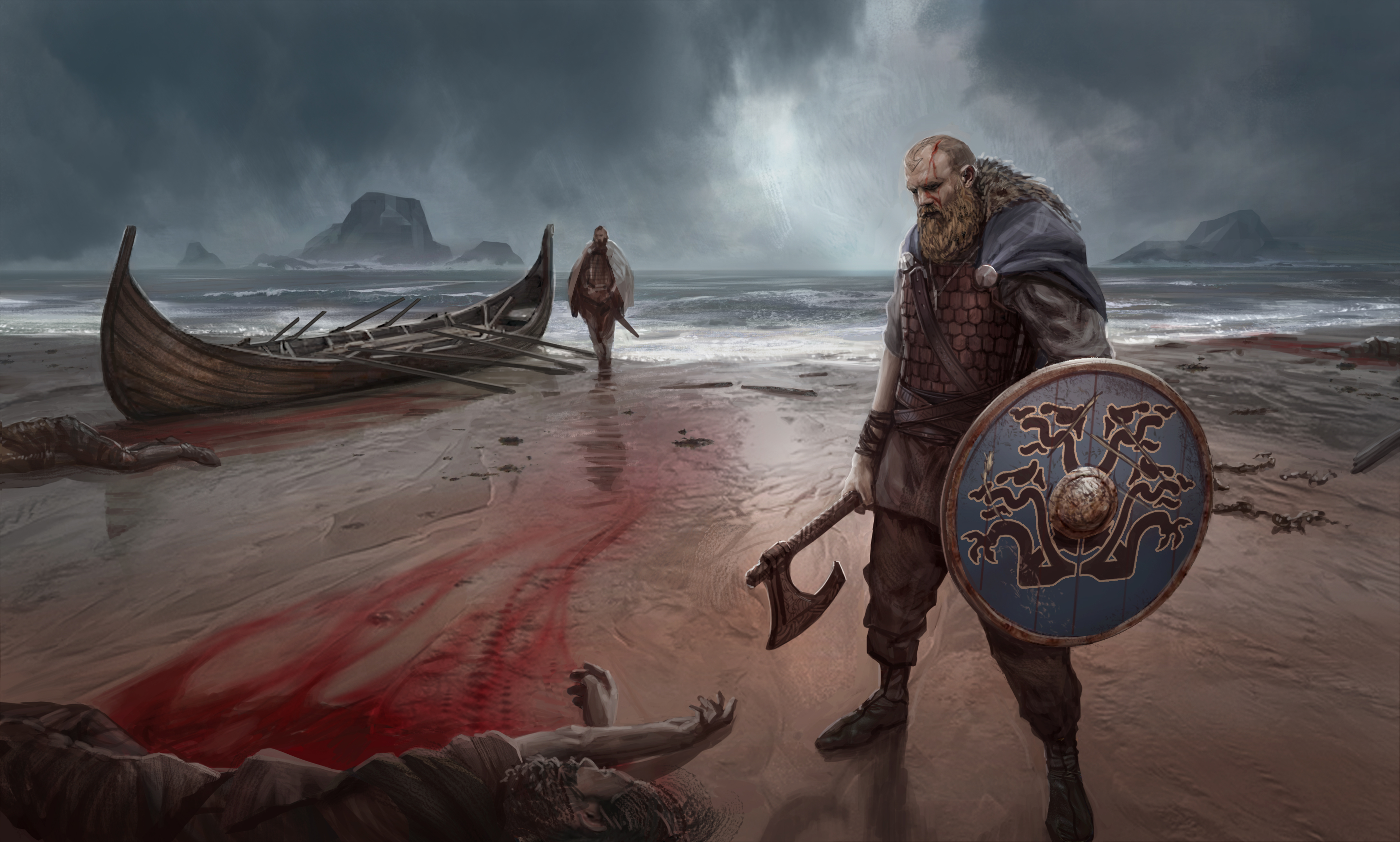 Viking Raiders | James Ives| Concept Artist and ...
